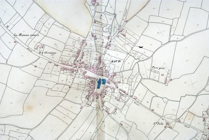Plan cadastral de 1829