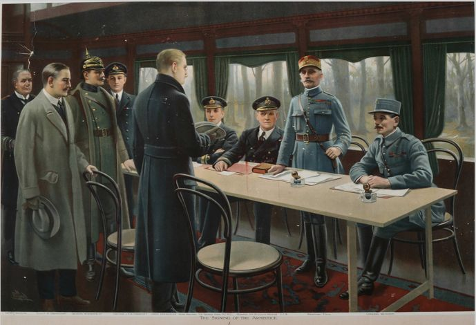 11 novembre : armistice de 1918