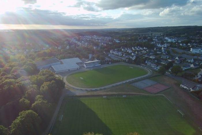 Les terrains de football