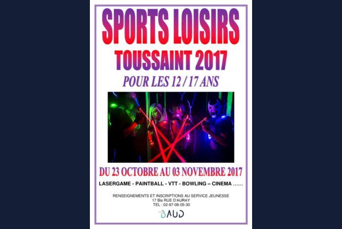 Programme de l'accueil de loisirs des vacances de la Toussaint