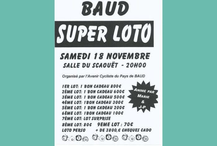 Loto de l'Avenir Cycliste du Pays de Baud