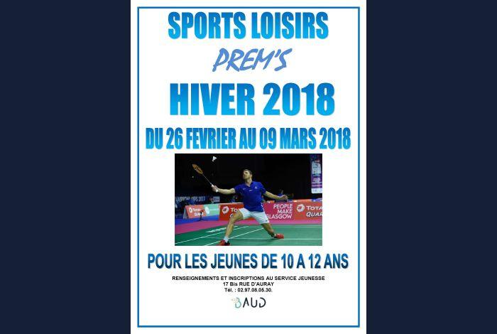 Programme et inscription Sport Loisirs
