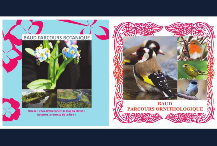 Livrets Botanique et Ornithologique