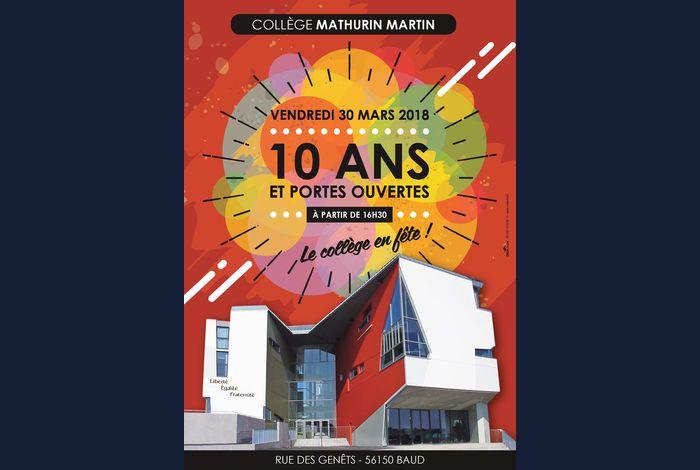 10 ans du collège Mathurin Martin
