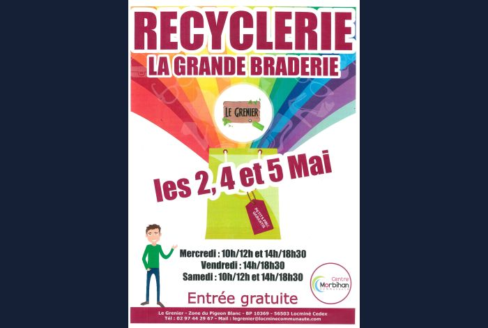 La grande braderie de la recyclerie