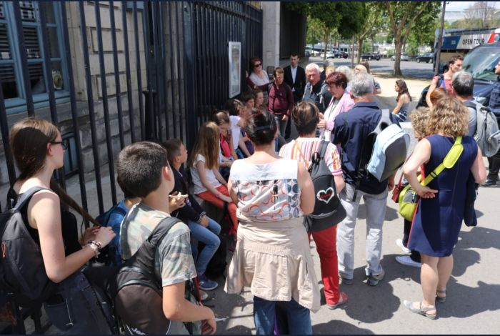 15. En attendant l'ouverture 33, quai d'Orsay