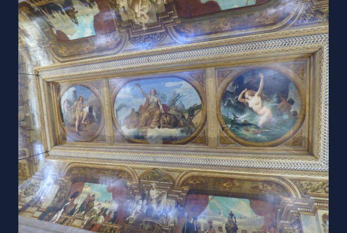 21. Plafond de la salle des Pas Perdus