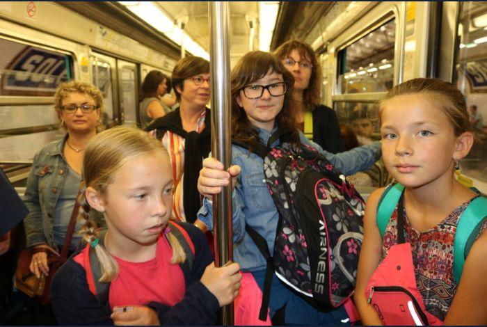 4. Le métro en dehors des heures de pointe c'est top
