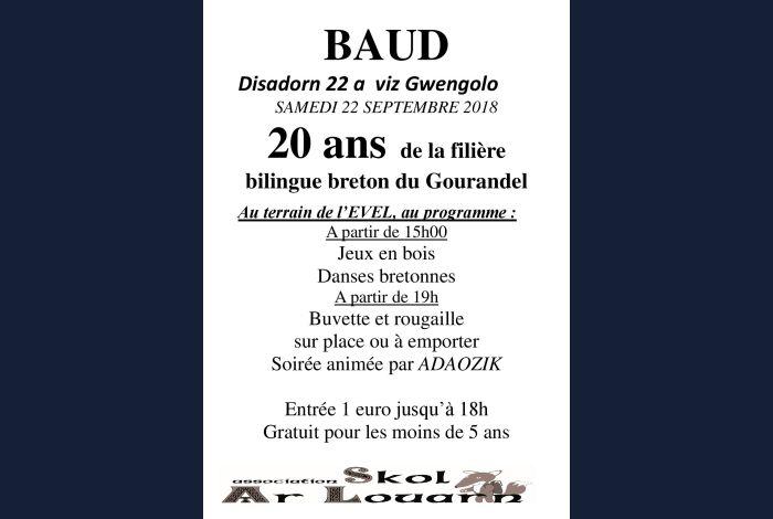 Anniversaire de la filière bilingue du Gourandel