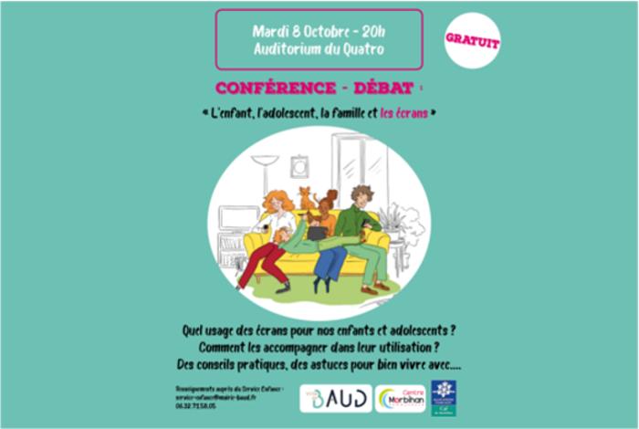 Conférence sur la Parentalité  «La famille et les écrans»