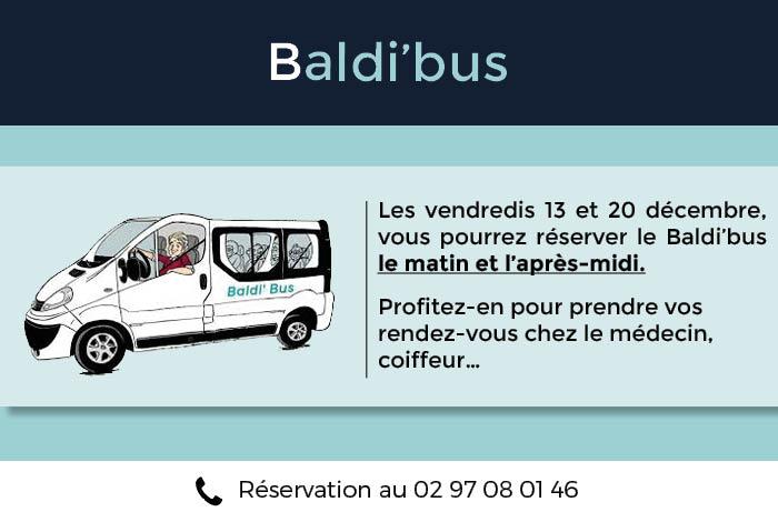 Le Baldi'bus les vendredis 13 et 20 décembre