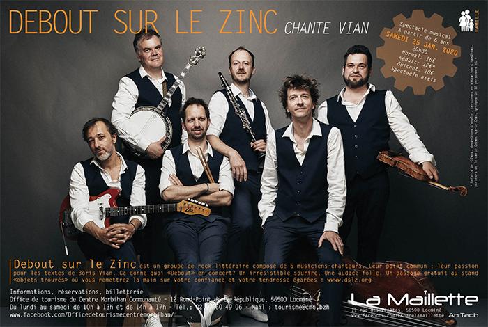 Concert – Debout sur le Zinc