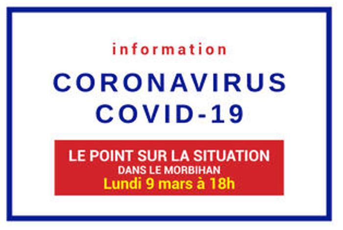 Mesures liées au coronavirus – MAJ 17/03/20