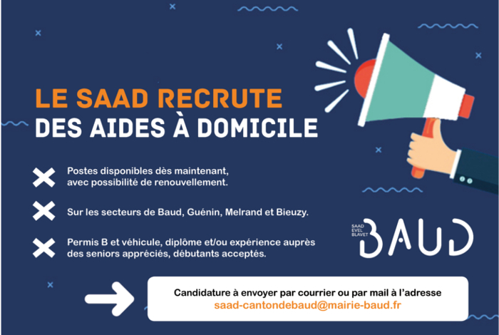 Recrutements au SAAD