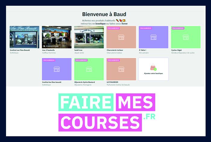 Recréez votre commerce sur Fairemescourses.fr