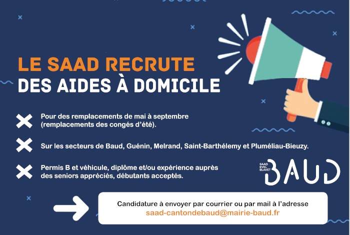 Recrutements au SAAD